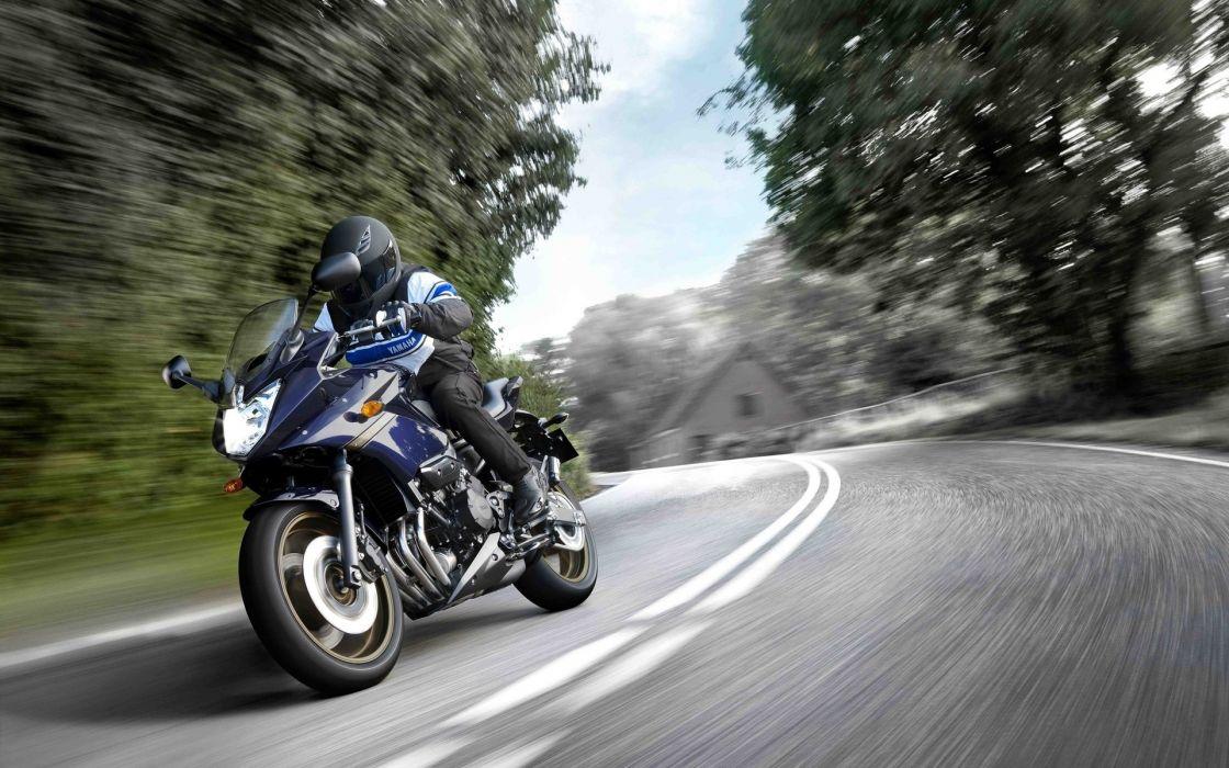 Wallpaper Yamaha XJ6S Diversion Motorbike Bike Yamaha Speed wallpaper