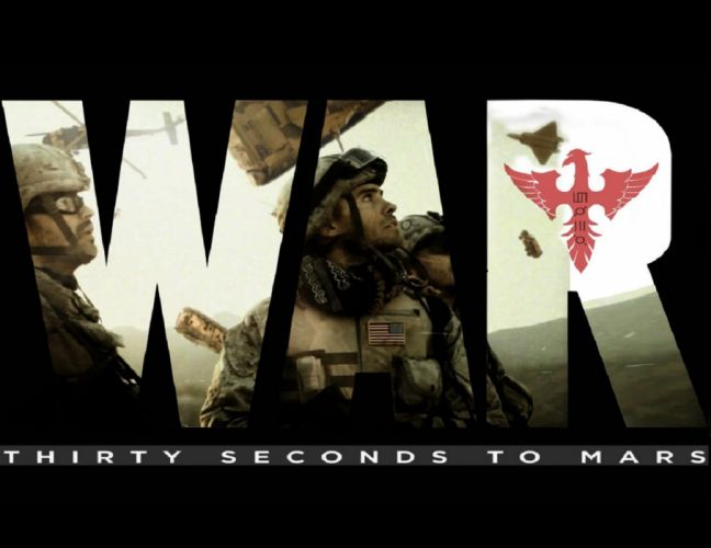 Thirty Seconds To Mars This is War wallpaper