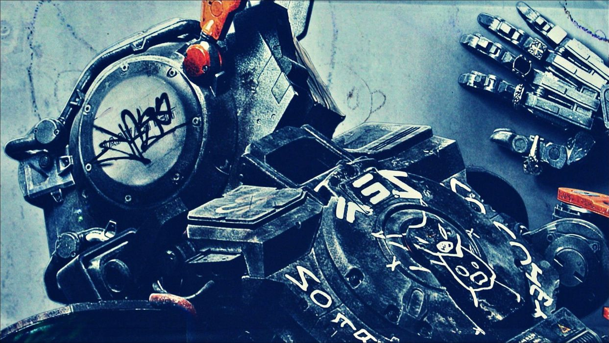 CHAPPIE sci-fi futuristic action thriller robot technics science technology 1chappie wallpaper