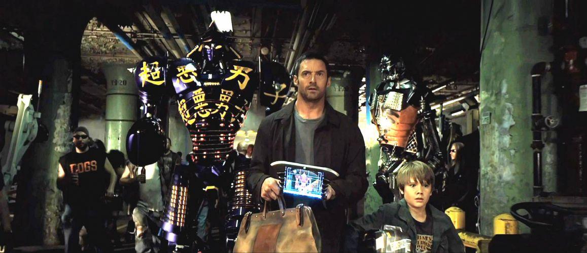 REAL STEEL sci-fi futuristic robot technics technology action fighting drama sports boxong 1realsteel science disney mecha warrior wallpaper