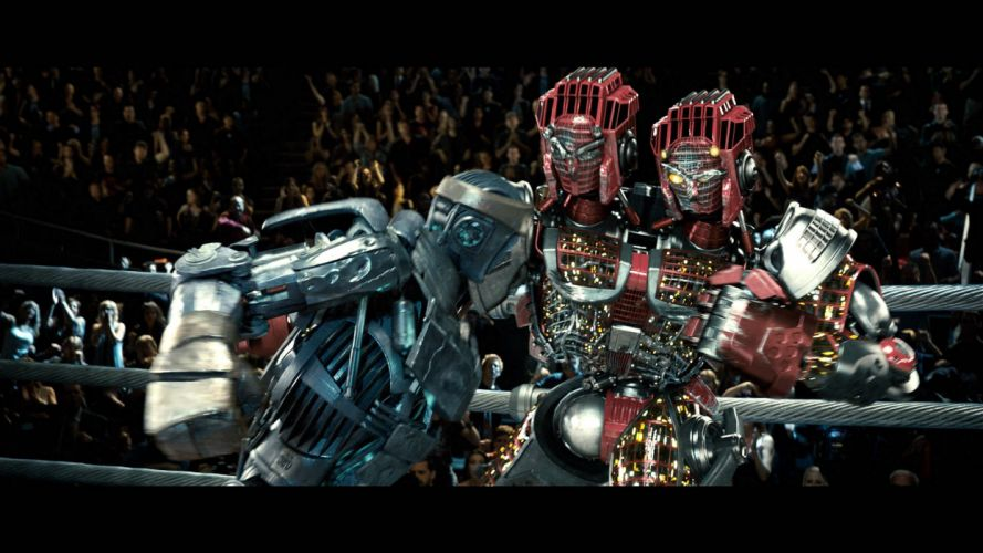 REAL STEEL sci-fi futuristic robot technics technology action fighting drama sports boxong 1realsteel science disney mecha warrior wallpaper