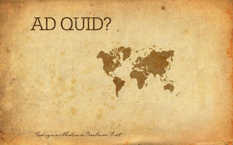 world map old latin quote wallpaper