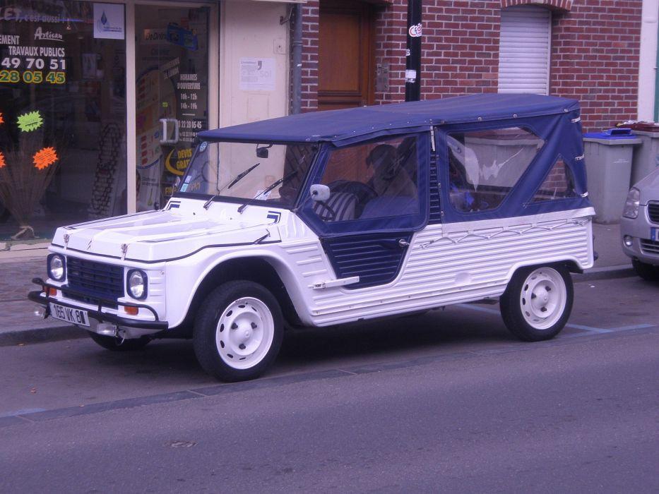 Mehari Citroen classic cars french  wallpaper