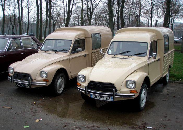 diane Citroen classic cars french wallpaper