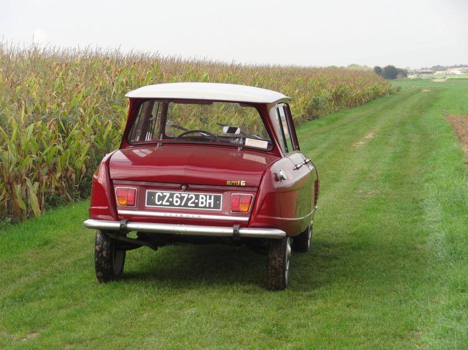 Ami 6 cars Citroen classic french wallpaper