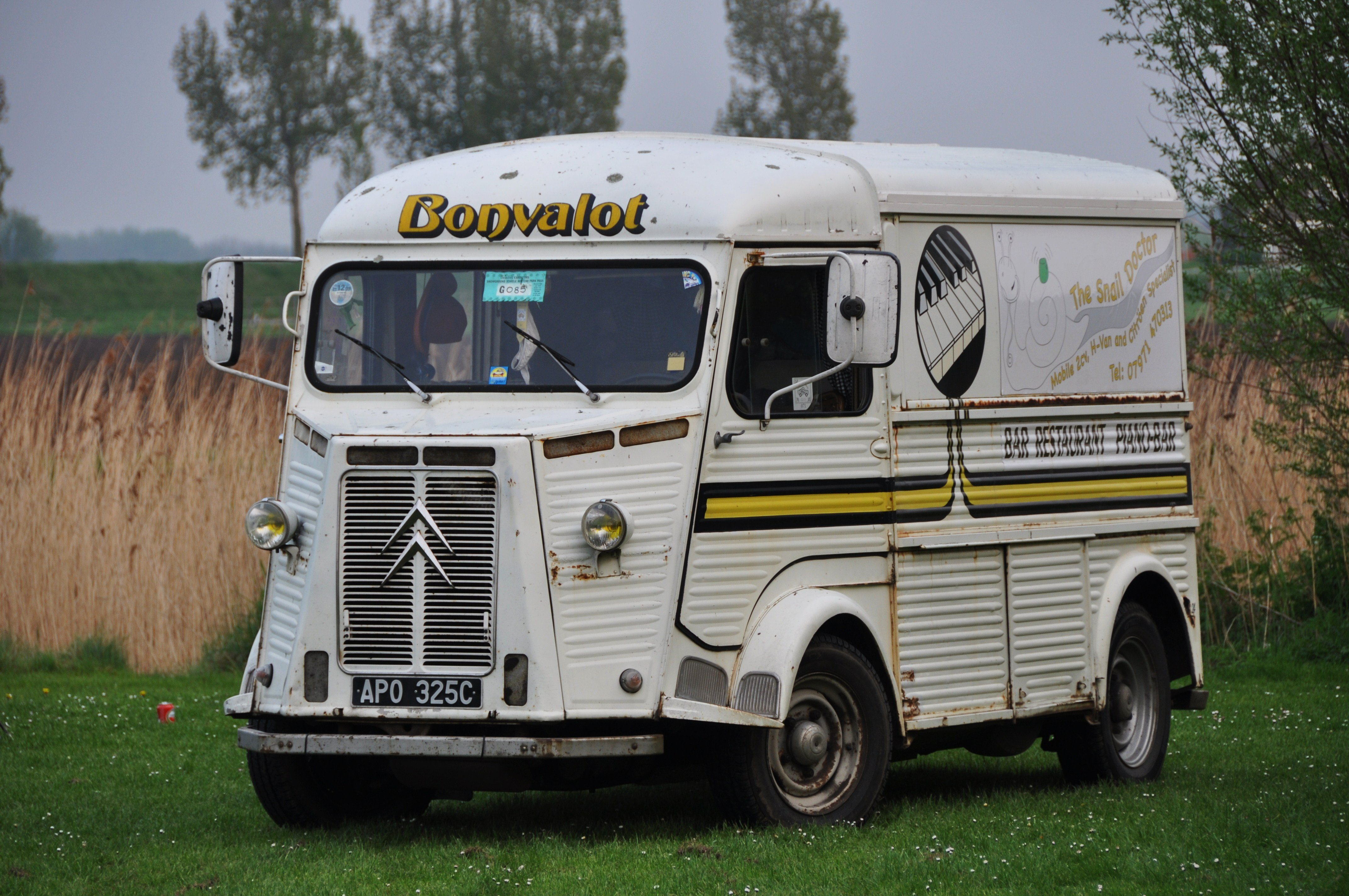 Citroen Type-h Classic Cars French Fourgonnette Truck Van