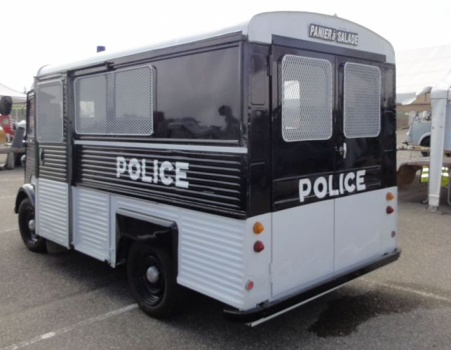 Citroen type-h classic cars french Fourgonnette truck van police delivery wallpaper