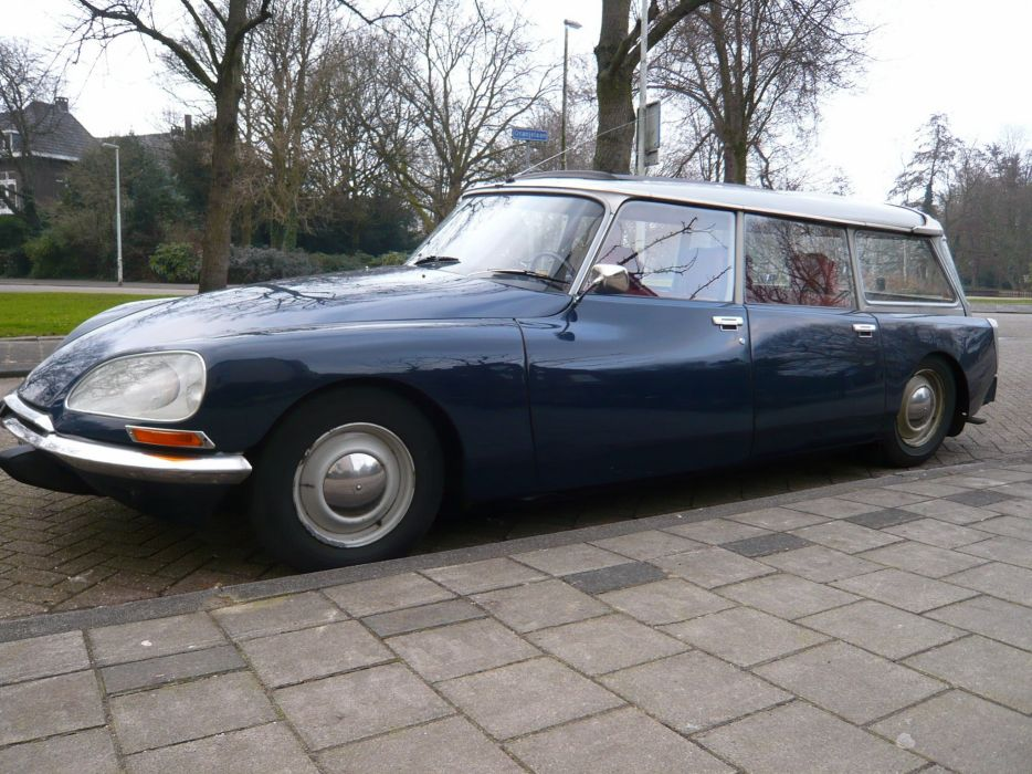Citroen DS classic cars french WAGON break wallpaper