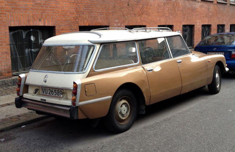 Citroen DS classic cars french WAGON break wallpaper