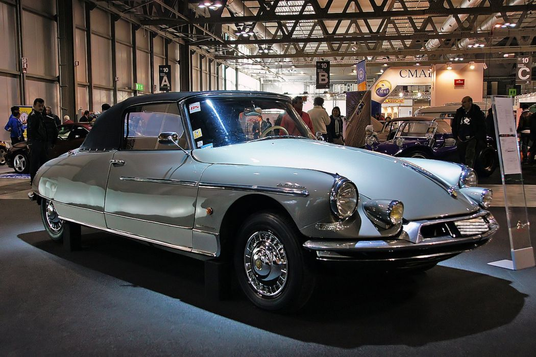 Citroen DS classic cars french convertible cabriolet wallpaper