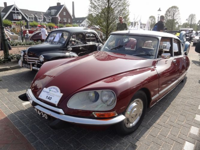 Citroen DS classic cars french wallpaper