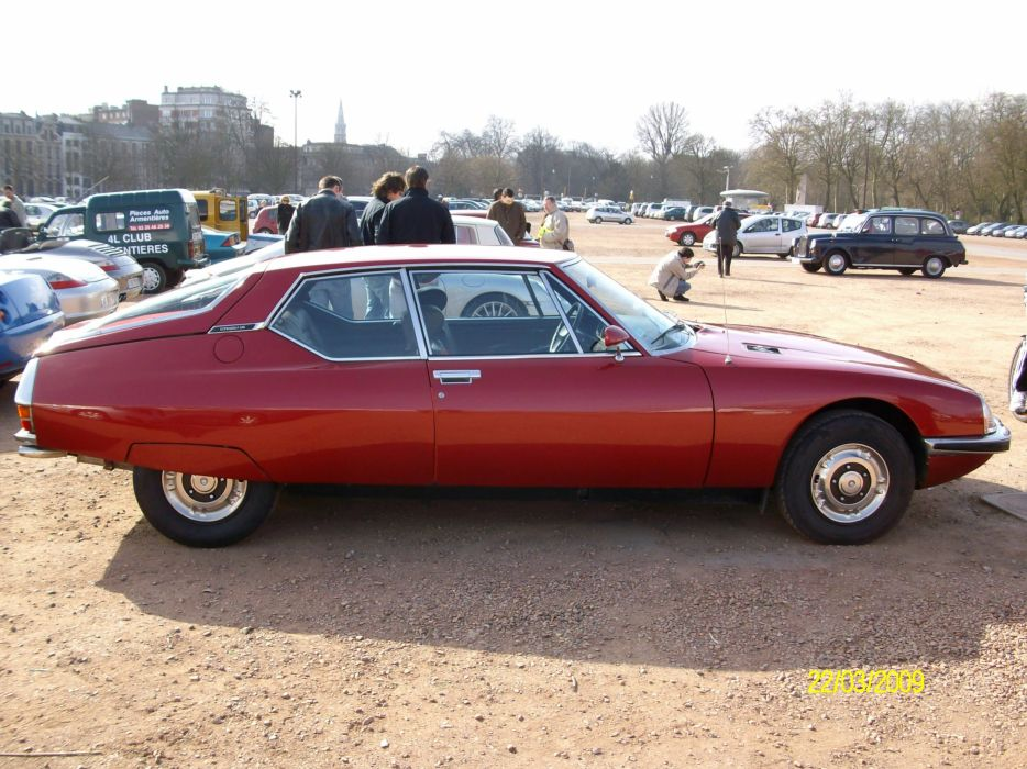 1971 Citroen classic s m cars french wallpaper