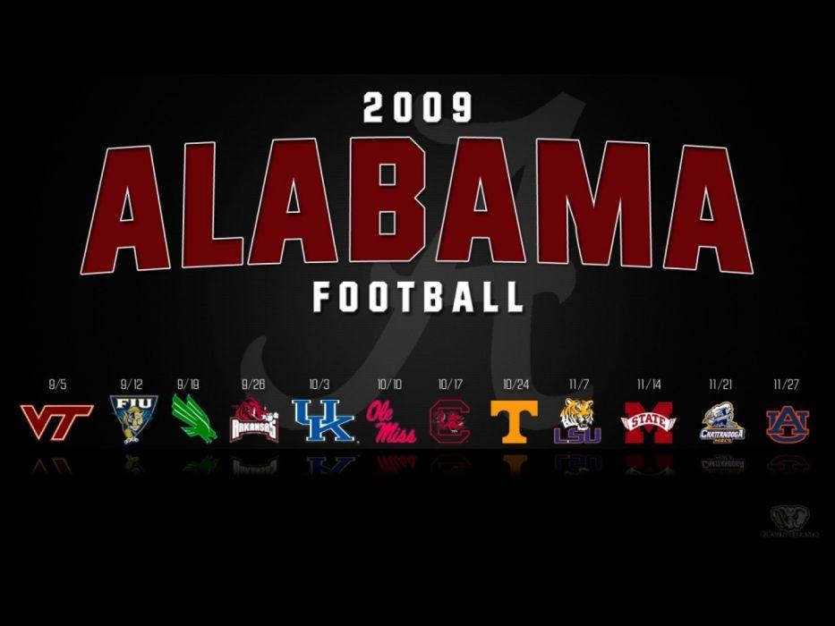 ALABAMA CRIMSON TIDE college football wallpaper