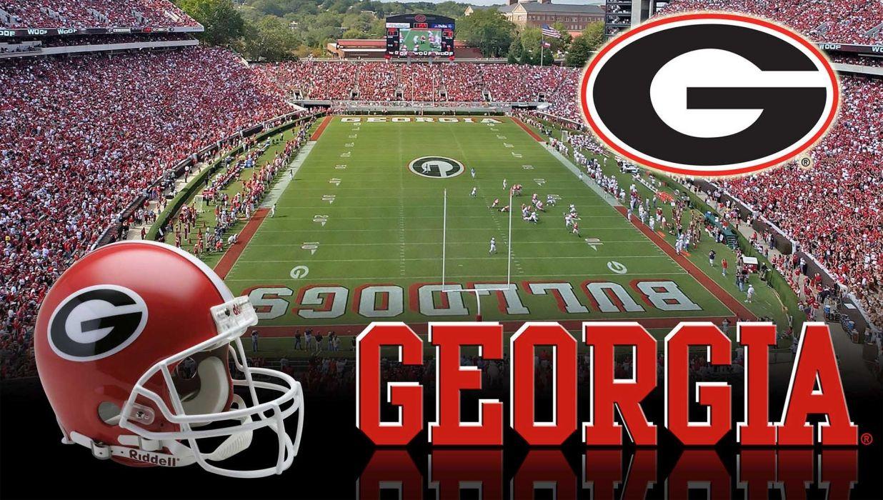 GEORGIA BULLDOGS college football wallpaper
