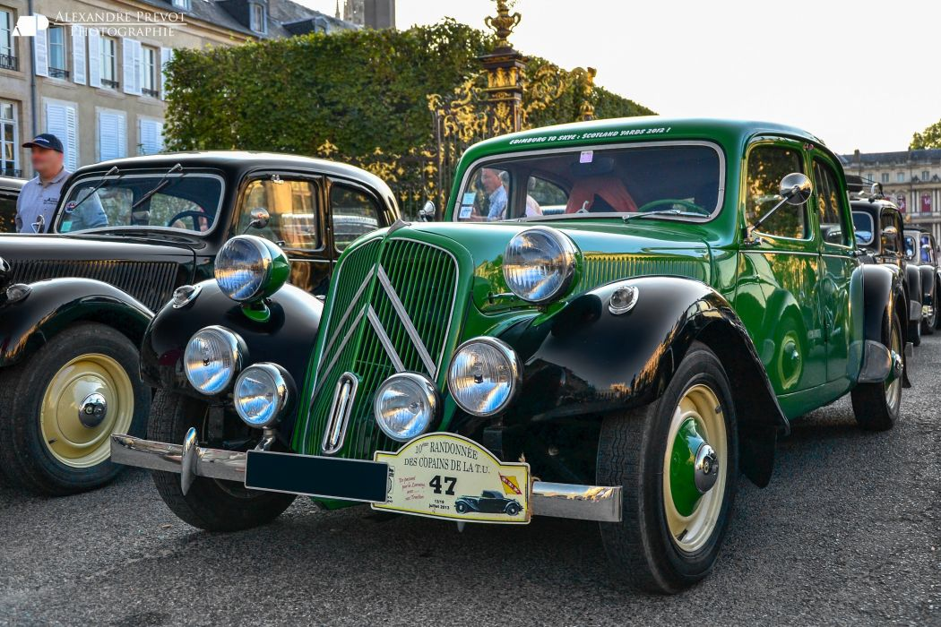 cars Citroen traction avant classic french wallpaper