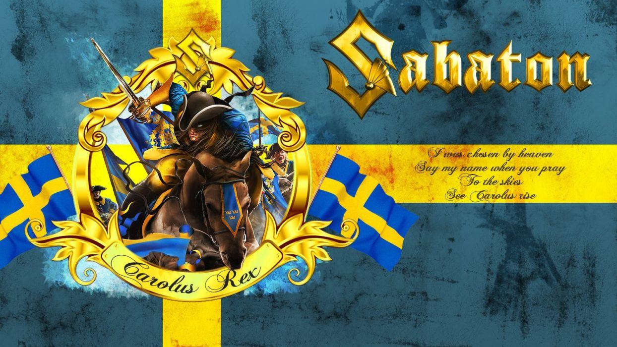 Sabaton Carolus Rex cover wallpaper