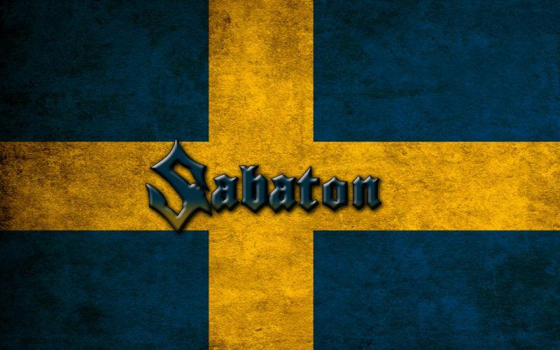 Sabaton Swedish Flag wallpaper