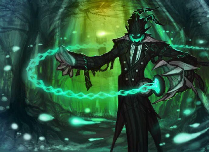 League of Legends Butler Tresh fan Art wallpaper
