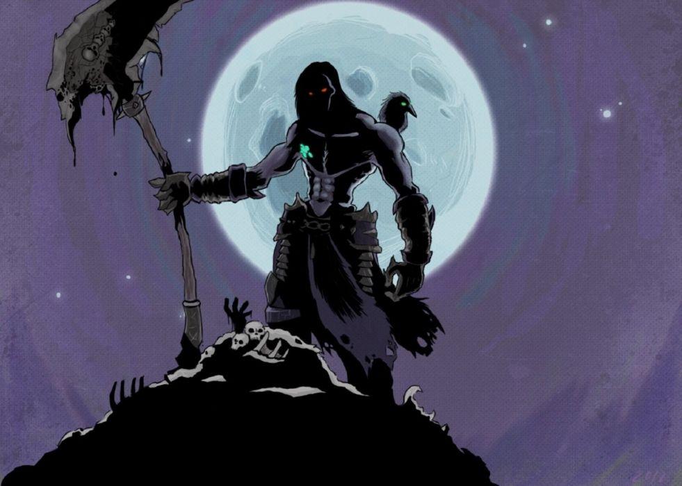 Darksiders 2 Death Fan Art Wallpaper 1500x1070 593134
