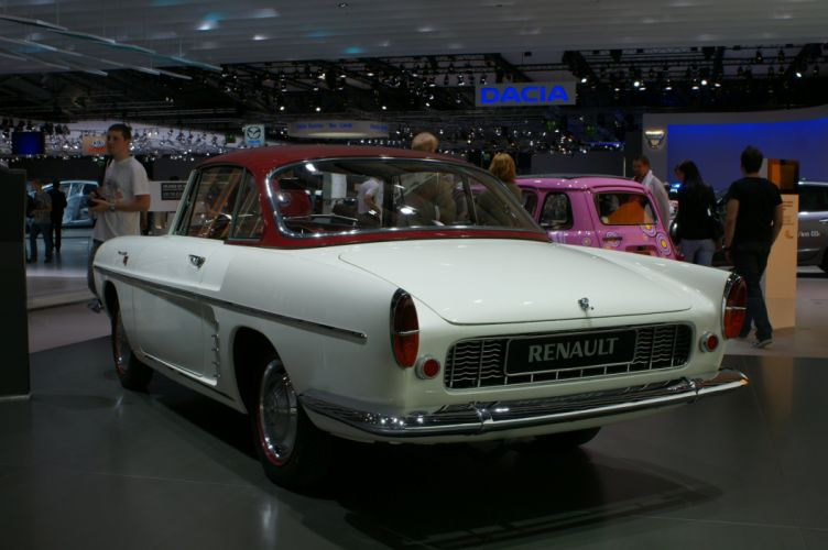 renault floride caravelle classic convertible cabriolet cars french wallpaper