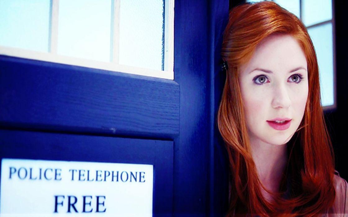 Karen Gillan Doctor Who wallpaper