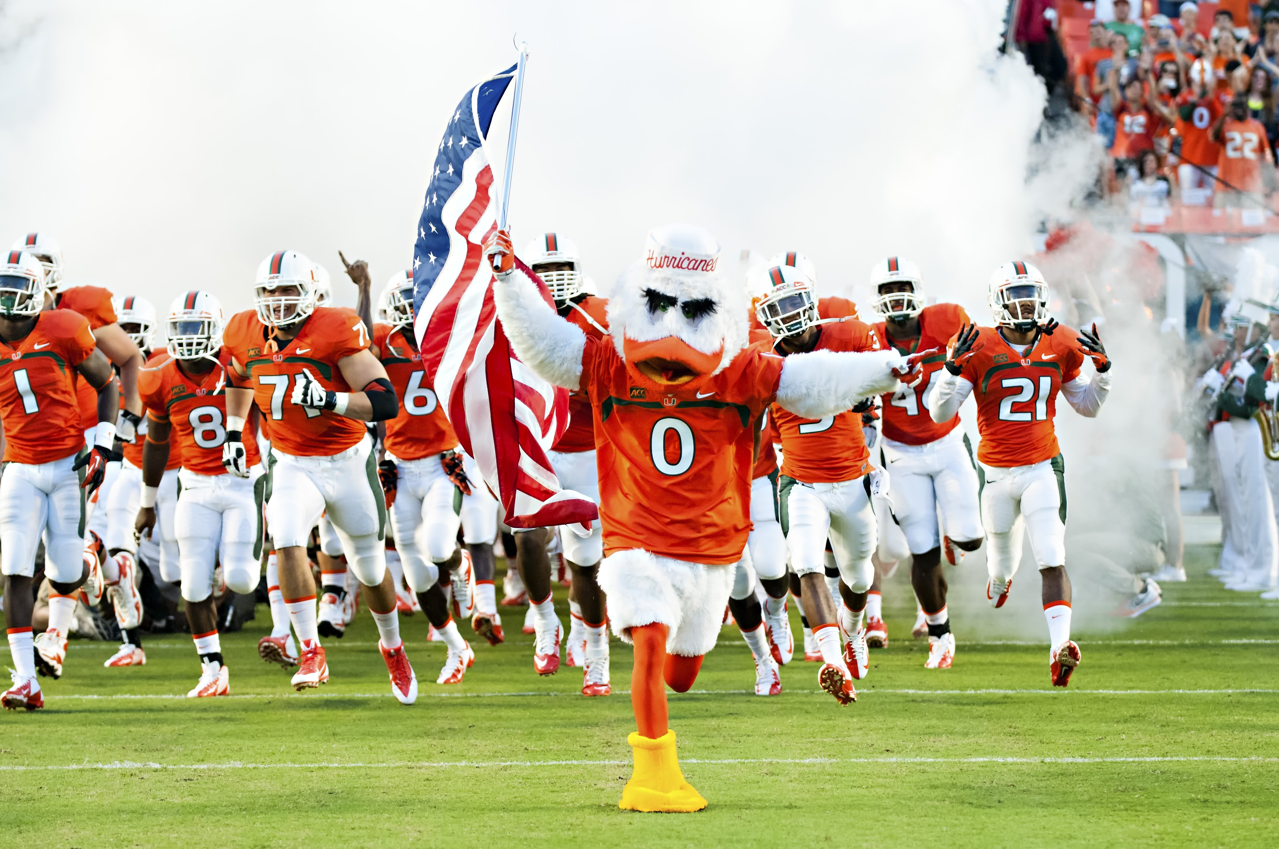 Hurricanes Football Wallpaper Football Miami Hurricanes