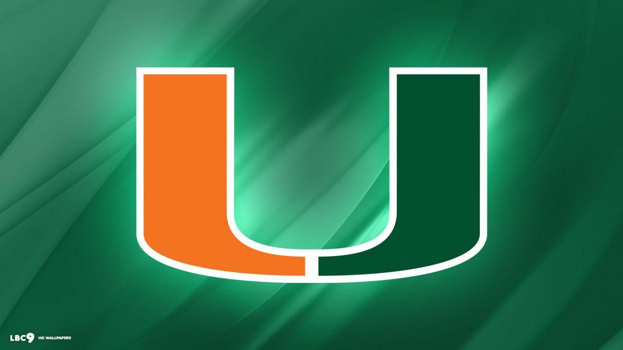 Miami Hurricanes College Football Wallpaper 1920x1080 593464