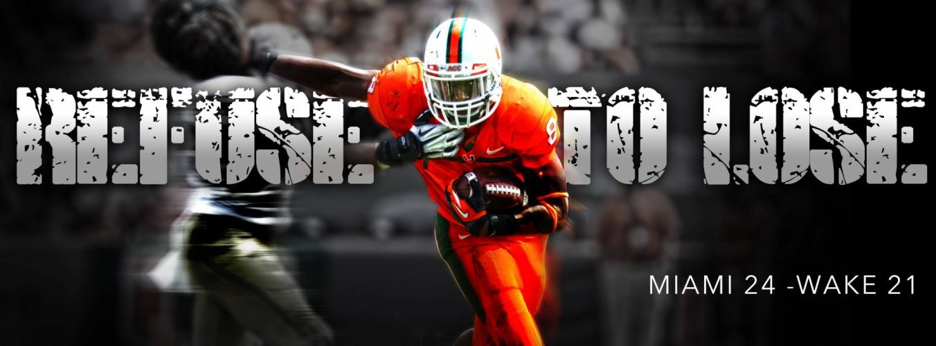 MIAMI HURRICANES college football wallpaper
