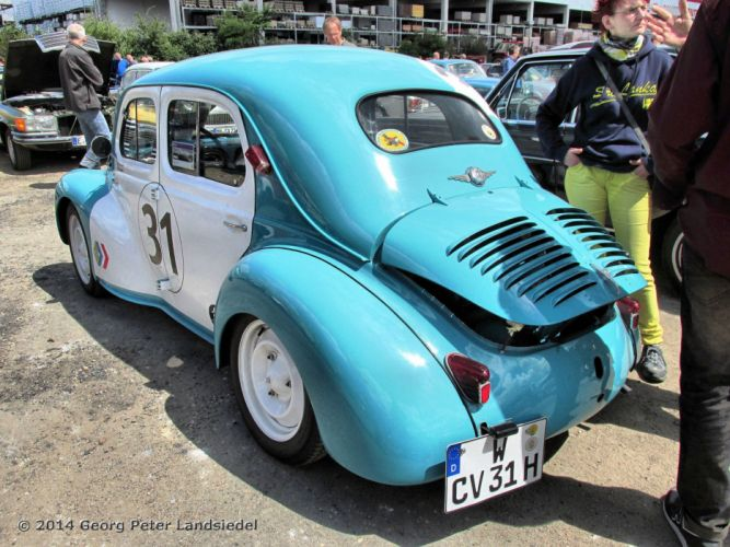 renault 4cv classic cars french racecars wallpaper