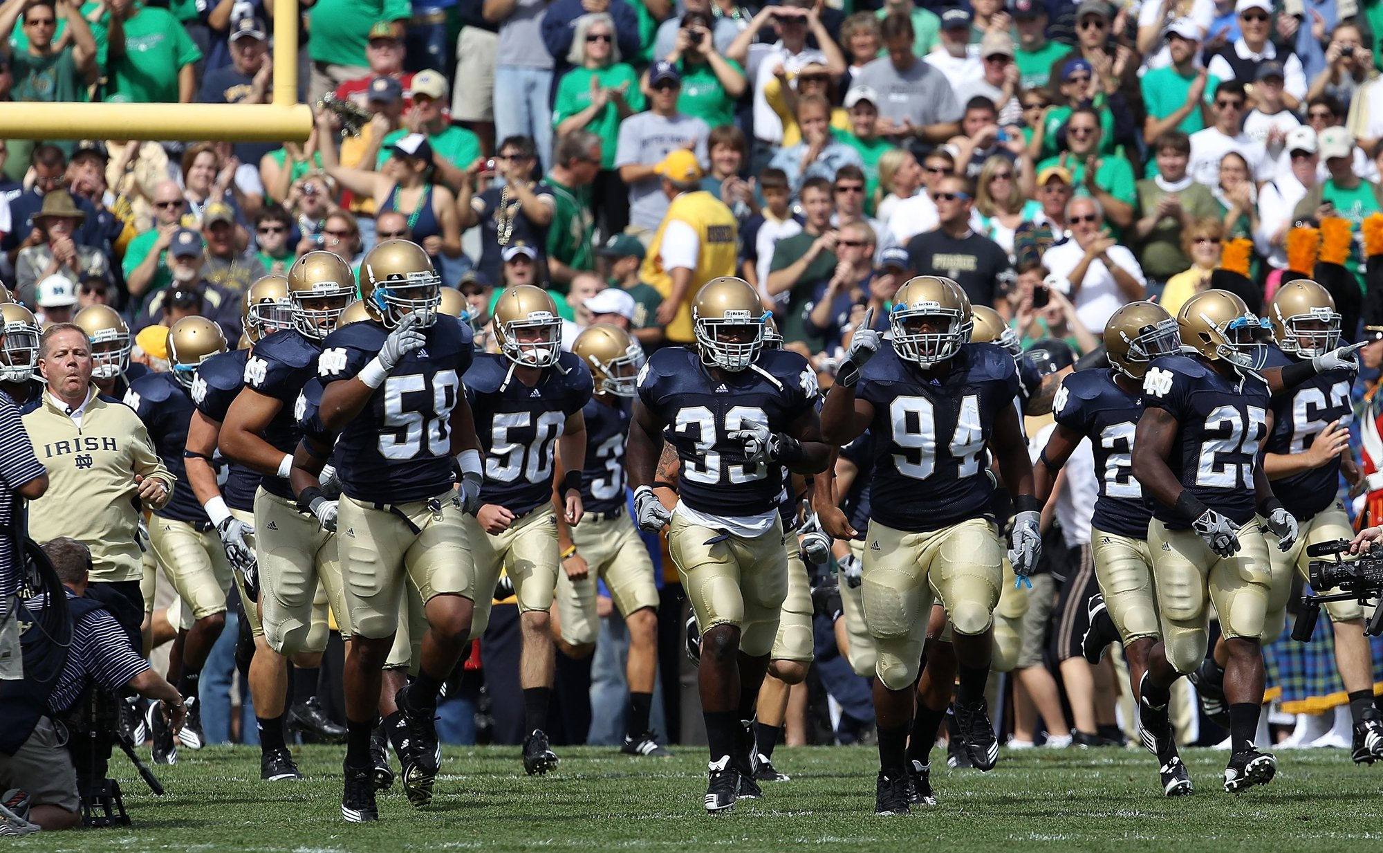 The premier spot to discuss Notre Dame football Intelligent talk about Notre Dame football Notre Dame football recruiting and other Fighting Irish teams