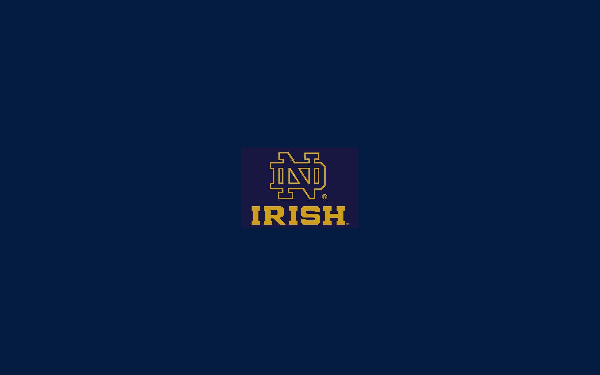 NOTRE DAME Fighting Irish College Football Wallpaper
