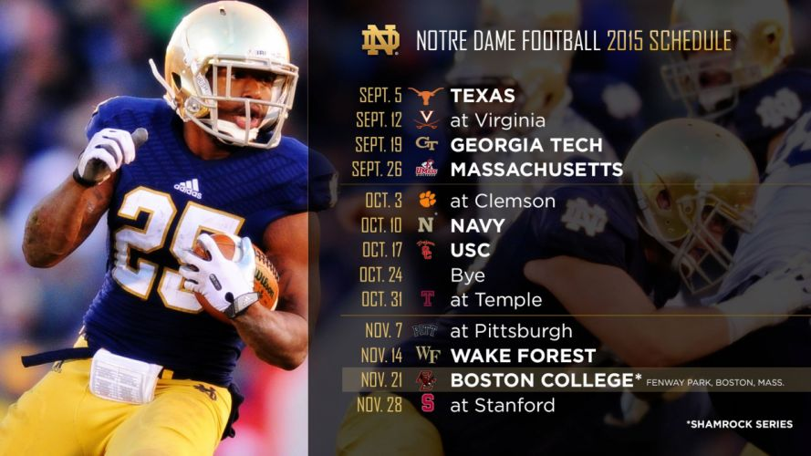 NOTRE DAME Fighting Irish college football wallpaper