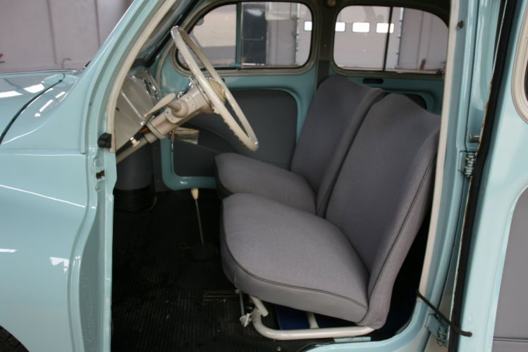 renault 4cv classic cars french interior wallpaper