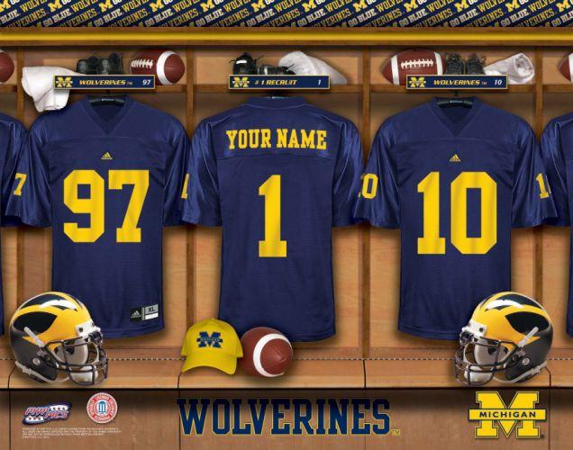 MICHIGAN WOLVERINES college football wallpaper