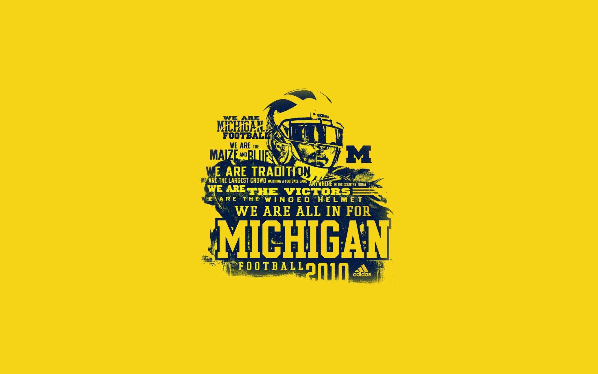 Michigan Football Schedule Wallpaper