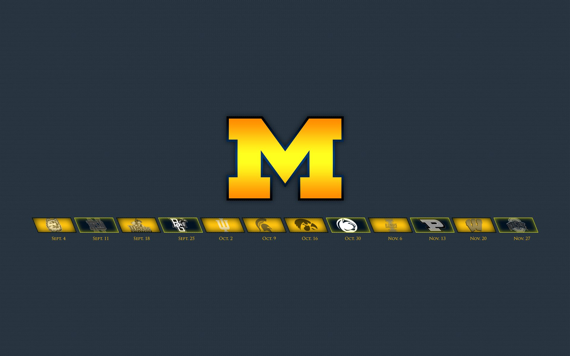 Michigan wolverines college football wallpaper 1920x1200 593798 wallpaperup - Michigan state football backgrounds ...
