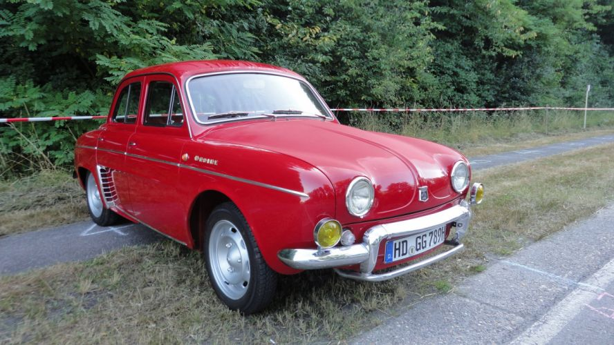 renault dauphine ondine classic cars french wallpaper
