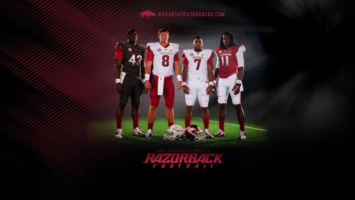 ARKANSAS RAZORBACKS college football wallpaper