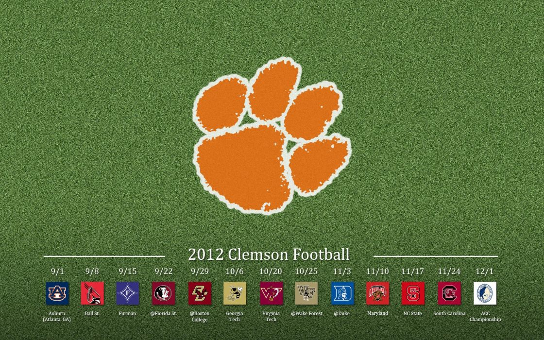 CLEMSON TIGERS college football wallpaper