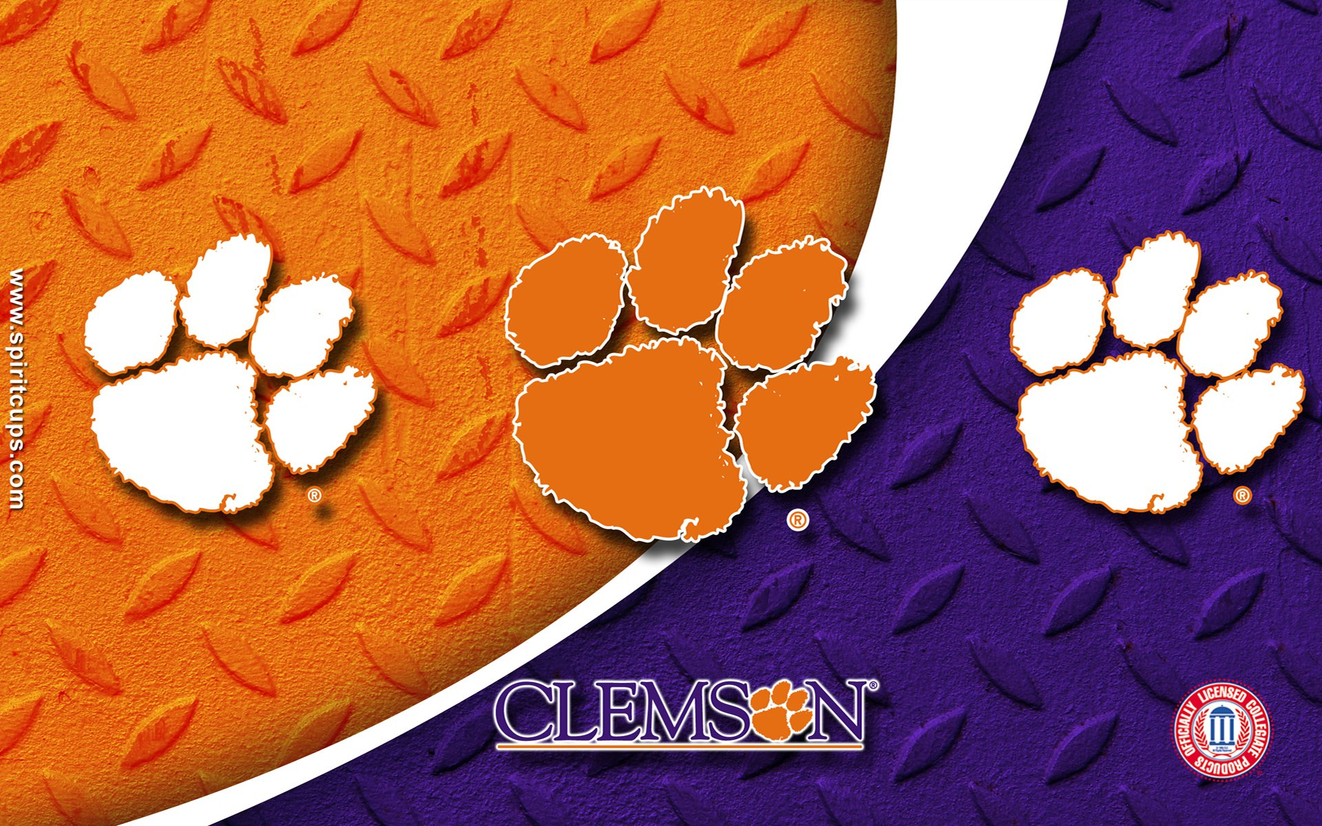 clemson tigers college football wallpaper 1920x1200