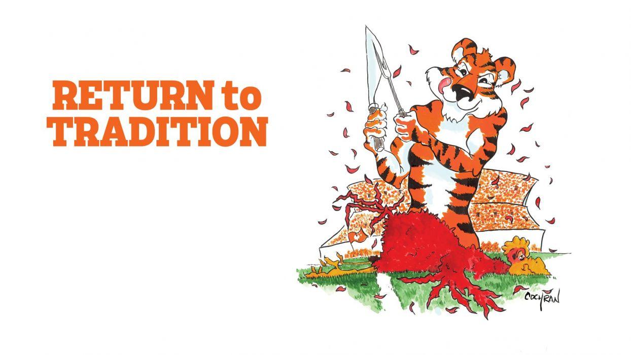 CLEMSON TIGERS college football wallpaper