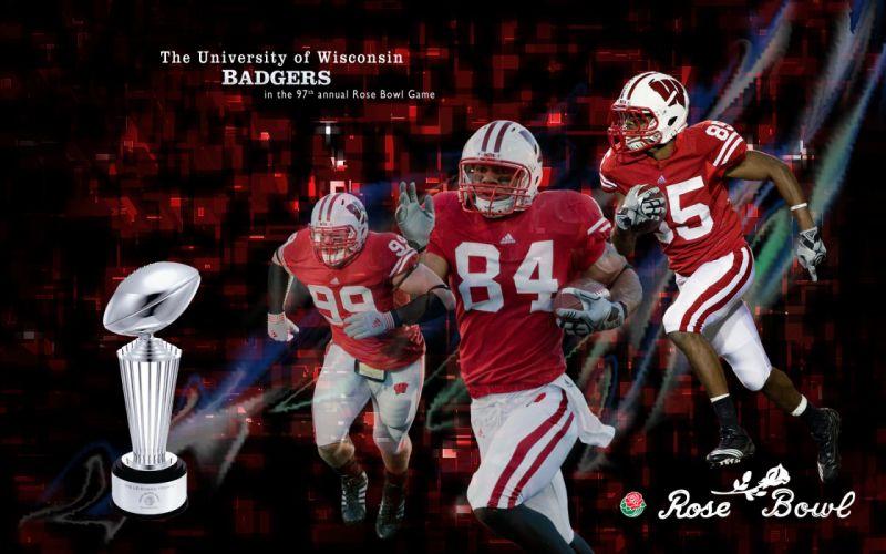 WISCONSIN BADGERS college football wallpaper