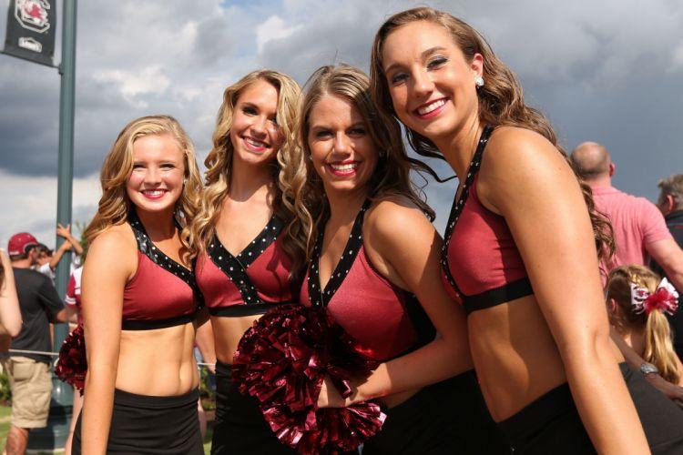 SOUTH CAROLINA GAMECOCKS college football cheerleader wallpaper