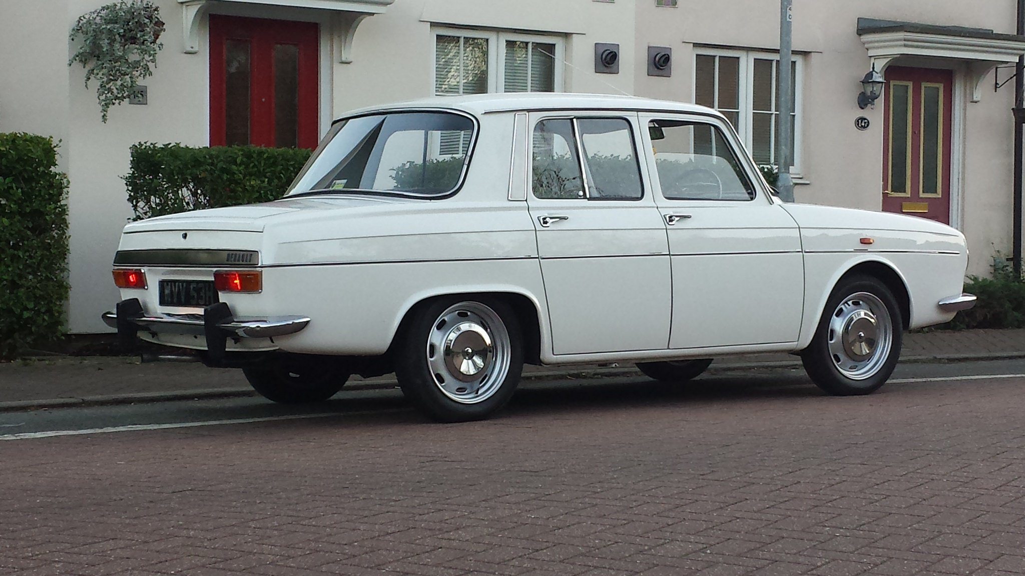 Cars Classic French Renault 10 R10 Major Classic Cars