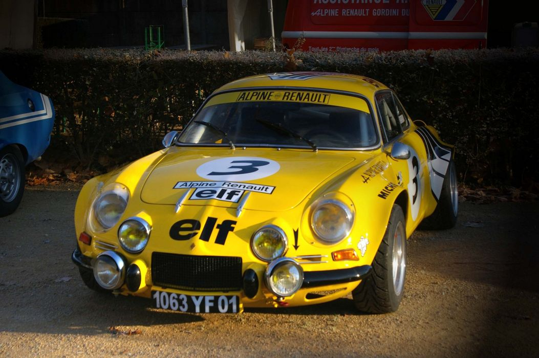a110 Alpine classic renault berlinette cars rallycars french coupe wallpaper