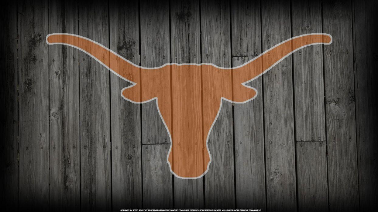 TEXAS LONGHORNS college football wallpaper
