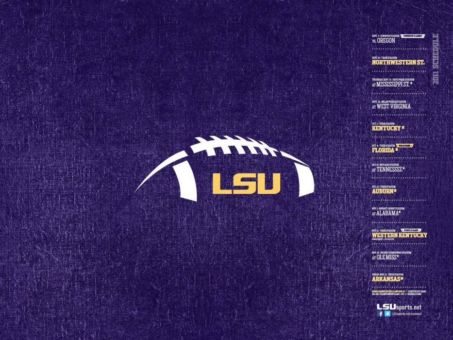 LSU TIGERS college football wallpaper