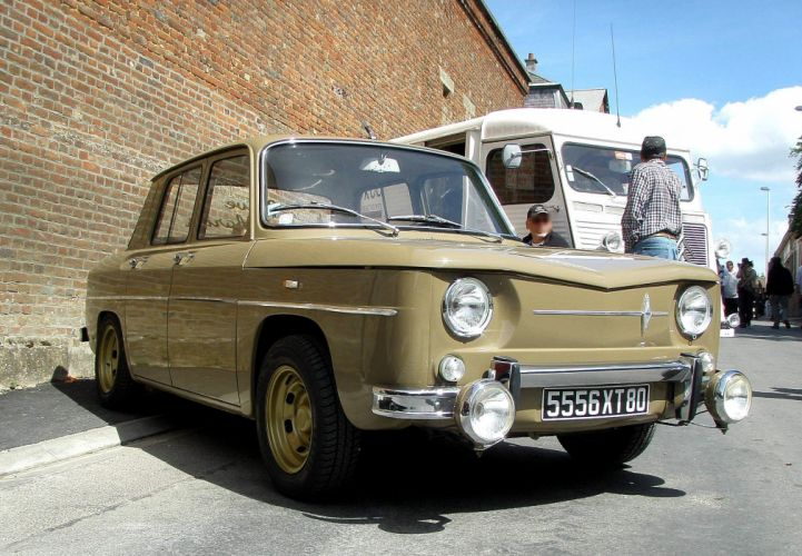 Renault r8 renault 8 major classic cars french wallpaper