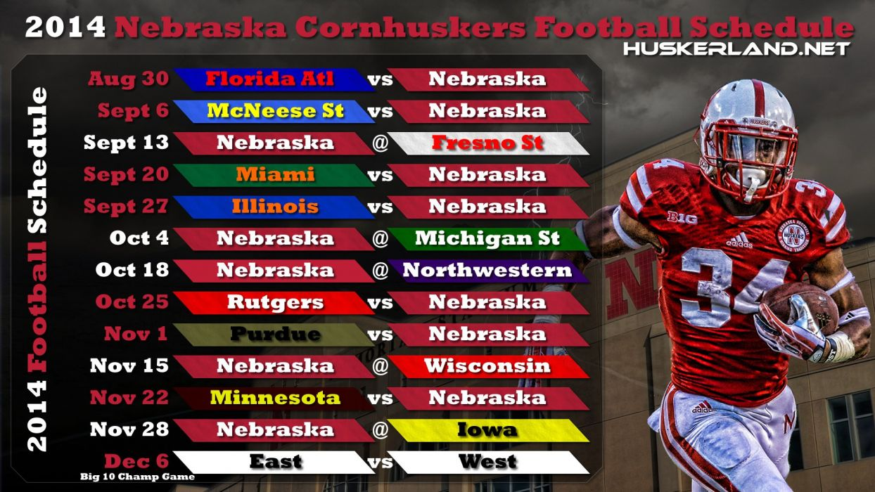 nebraska cornhuskers college football wallpaper | 1920x1080 | 595693