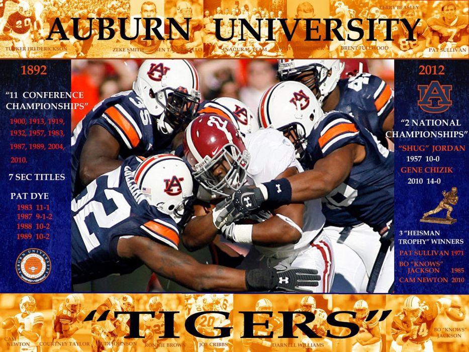 AUBURN TIGERS college football wallpaper